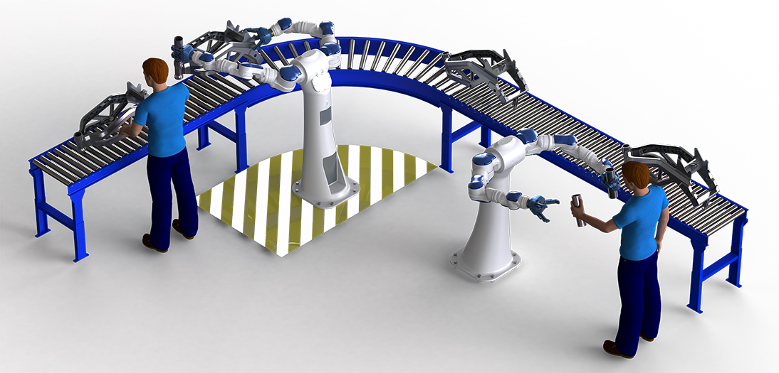 Image provided by Yaskawa America, Inc., Motoman Robotics Division