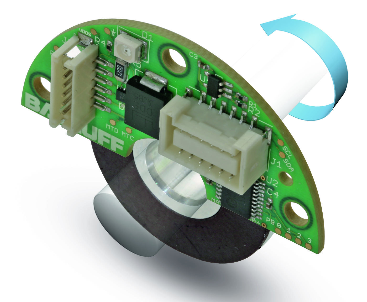 Absolute Rotary Encoder Sensing Technology Optical And